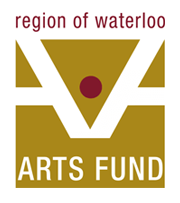 Region of Waterloo Arts Fund Logo